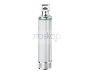 Rękojeść bateryjna typu C do łyżek laryngoskopowych światłowodowych